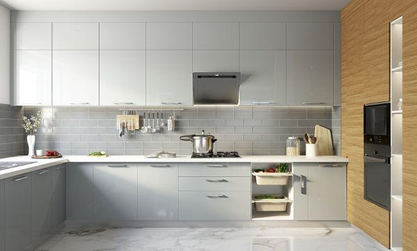 Storage Max U-shaped Modern Kitchen
