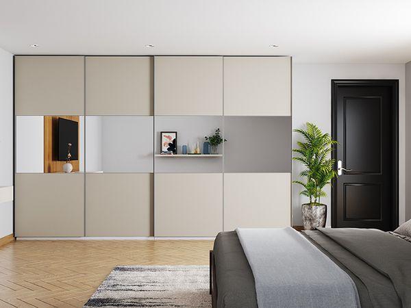 Aluminium Glass Divisional Doors