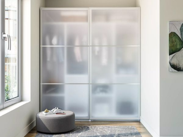 Clear Glass Shutters
