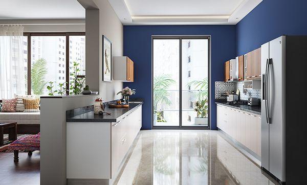 Low Maintenance Parallel Kitchen