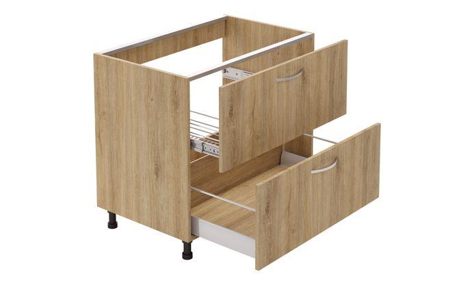 Sink Unit, 2 Drawers (2L)