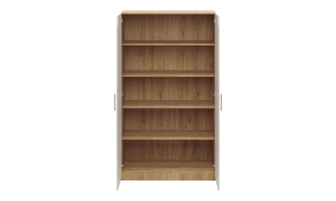Swing 2-Door, 4 Shelves, 2100 mm