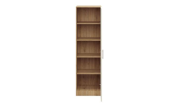 Swing 1-Door, 4 Shelves, 2100 mm