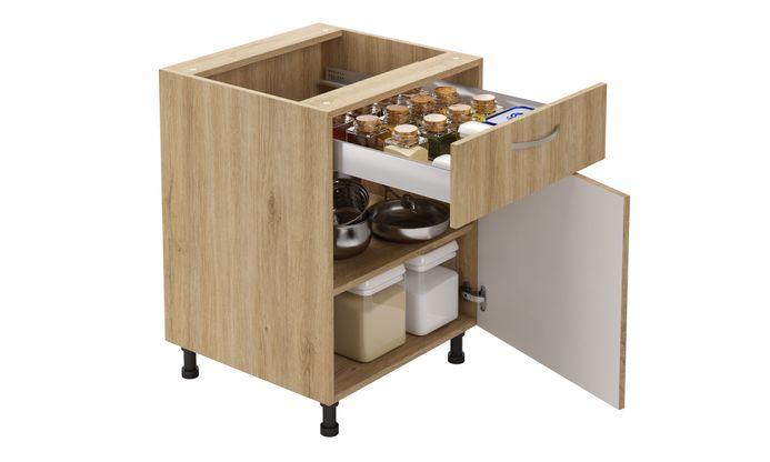 Base Unit, 1 Drawer (1M), 1 Shelf