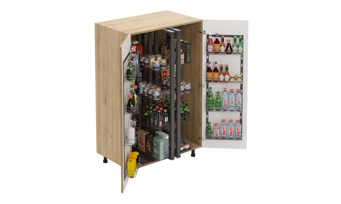 Mid-tall Unit, Full Pantry Pullout
