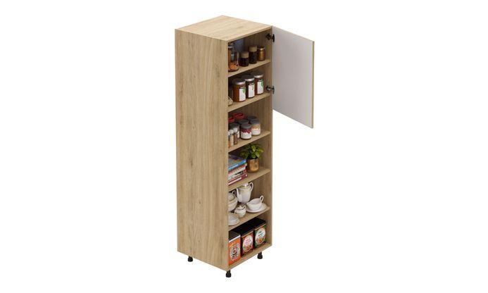Tall Open/Close Unit, 4 Shelves