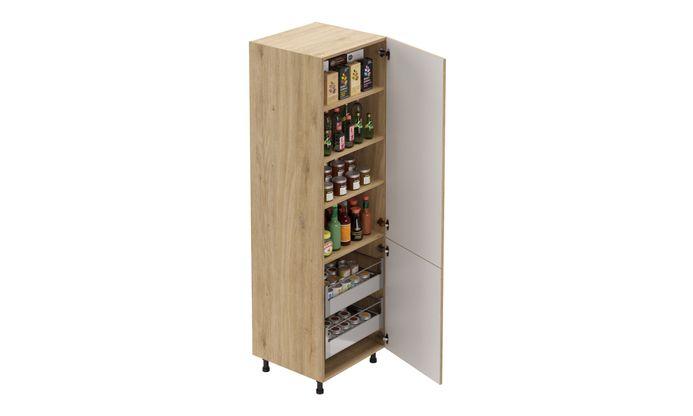 Tall Unit, 2 Drawers, 2 Shelves