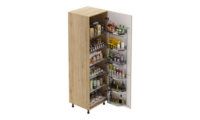 Tall Unit, 6-basket Pantry Pullout