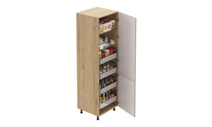 Tall Unit, 4 Drawers (4L), 2 Shelves