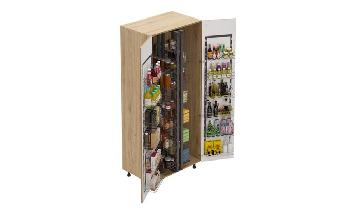 Tall Unit, Full Pantry Pullout