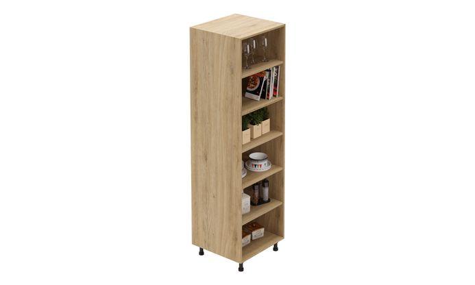 Tall Open Unit, 5 Shelves