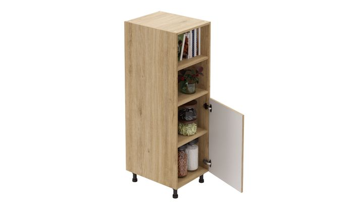 Mid-tall Open/Close Unit, 3 Shelves