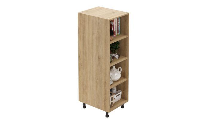 Mid-tall Open Unit, 3 Shelves