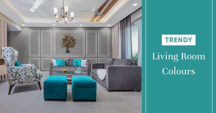 Chic Colours for a Gorgeous Living Room