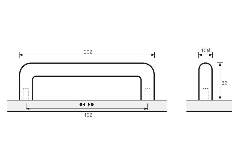 Avenio, Chrome plated, 202mm