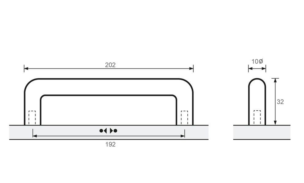 Avenio, Chrome plated, 362mm